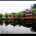贵州黄果树景区布依族村寨风光