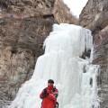 双龙峡踏冰看冰瀑