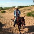 2005年夏骑马无后援穿越浑善达克沙地