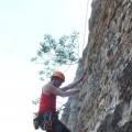 铁锁崖攀岩