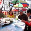 2014.04.05黄花城大坝大几字长城东宫吃鱼