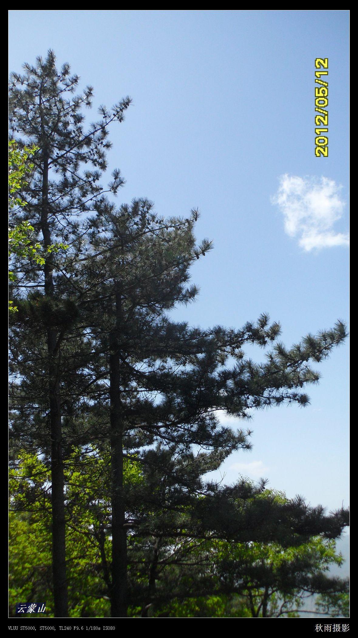 [照片摄影] ★★★九尾猫户外★★★5月12日-云蒙山自然风景区--云