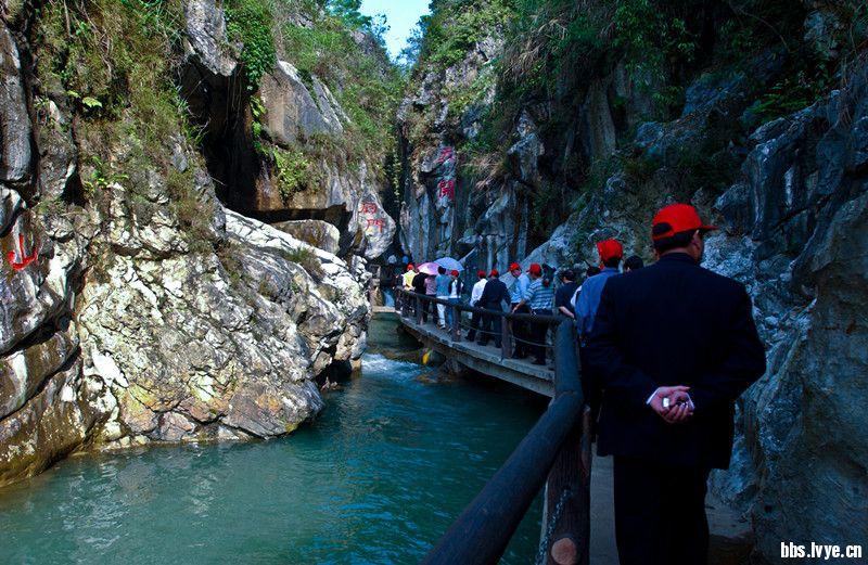 广安邻水天意谷景区惊现亿年高清图片