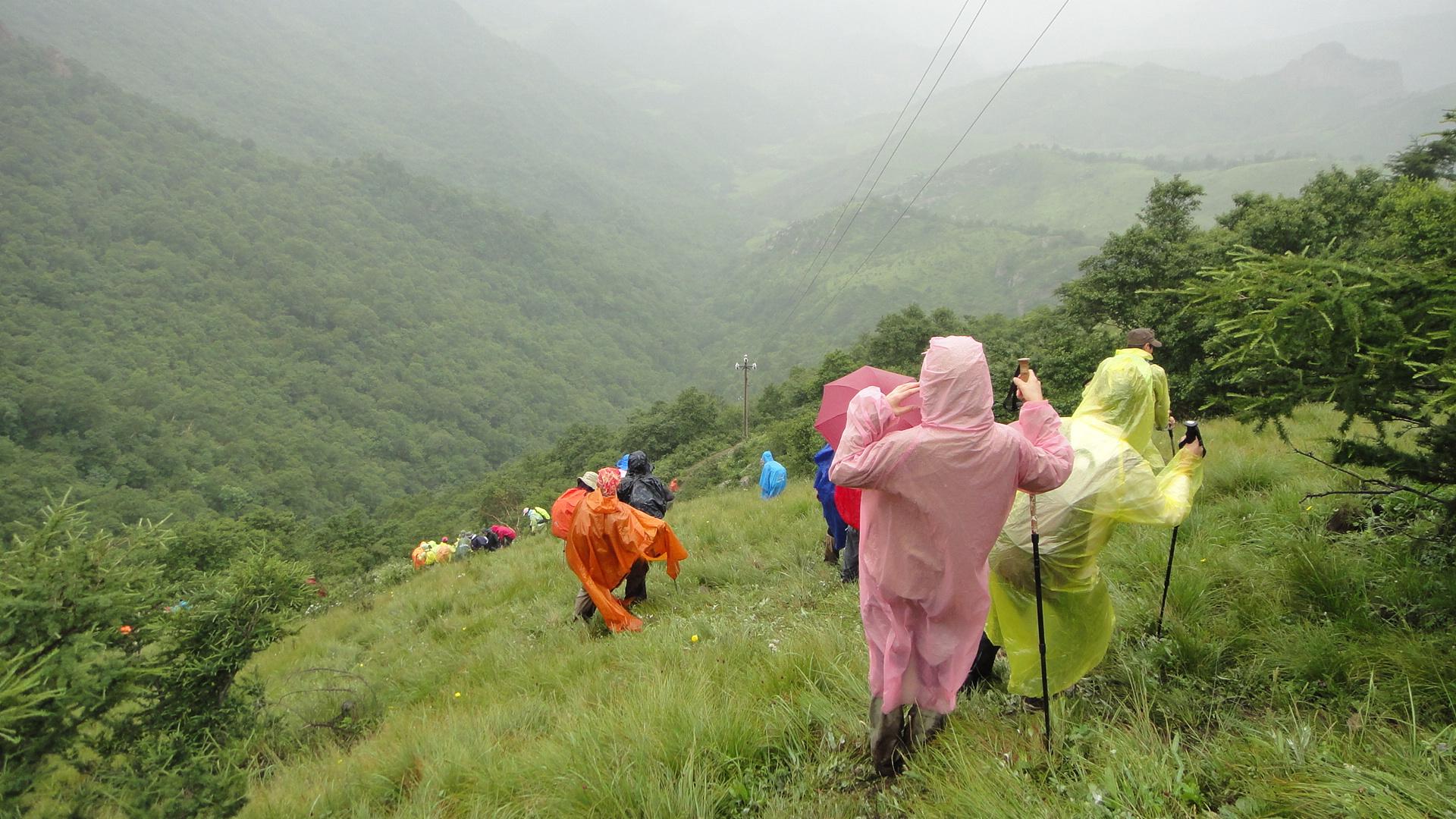 野路户外7月14号 茶山穿越互动照片征集中