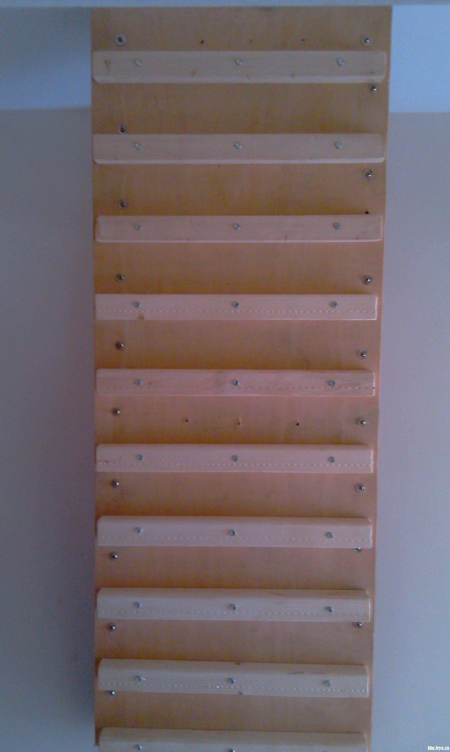 废木条自制鞋柜步骤图