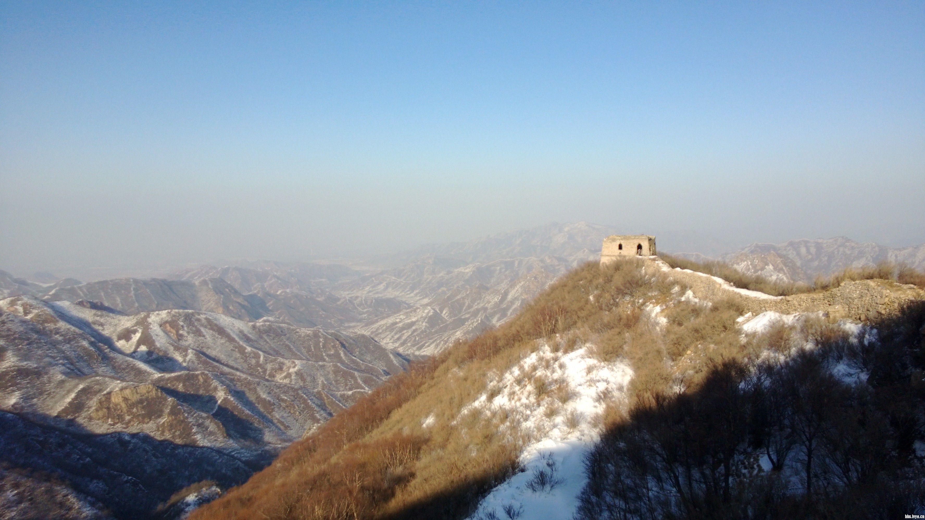 【f哥户外】11月17日(周六)黄楼院-高楼-长峪城,一日长城赏雪,穿越