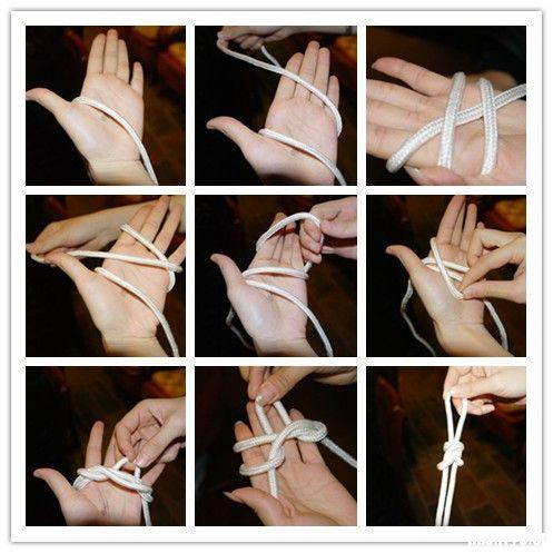 【十期】一条绳上的蚂蚱~~记户外领队培训绳结课~~附常用绳结分解图 ...