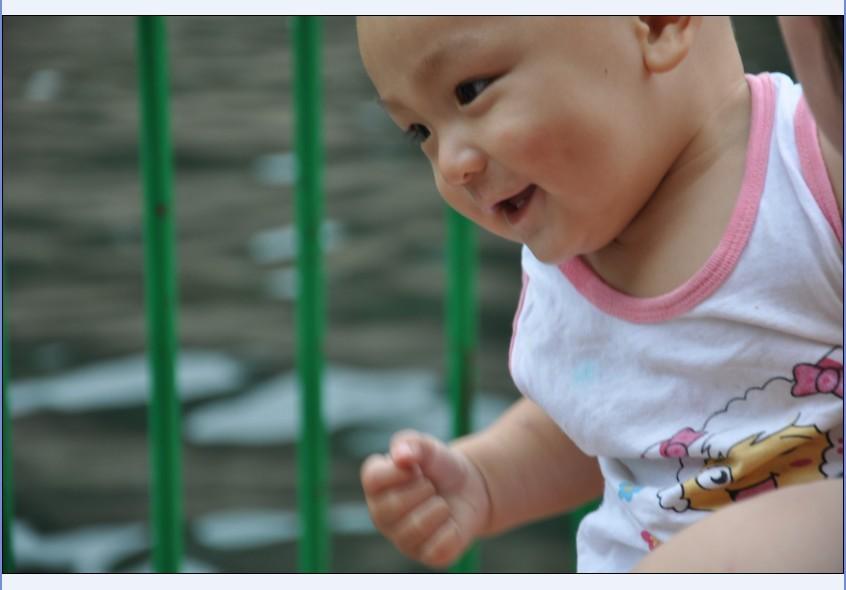孩子可爱的笑脸-北京-绿野各地-绿野户外网