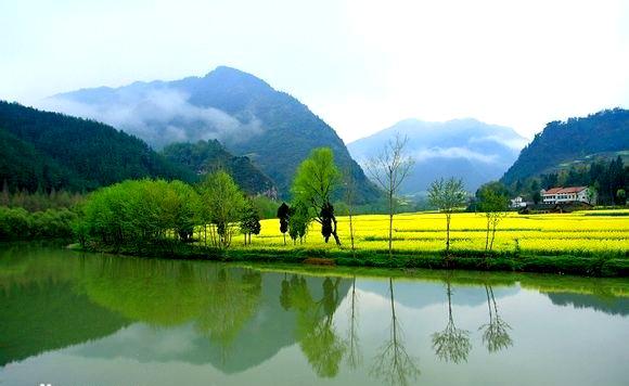 风景 大自然 春天 山水