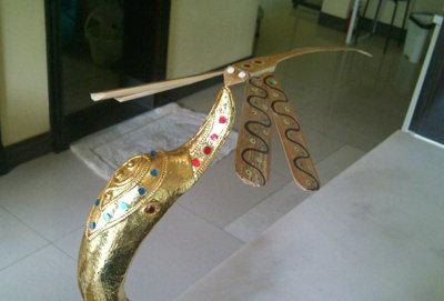 神奇的蜻蜓玩具(斑塔瓦baan tawa木雕村)