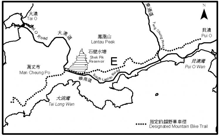 香港越野单车径推荐