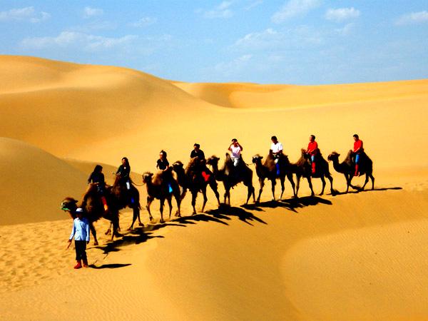 端午专题【徒步】——库布齐沙漠