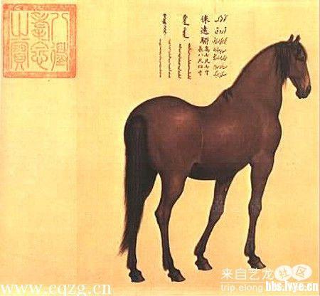 【中国马艺术】古代绘画·明清