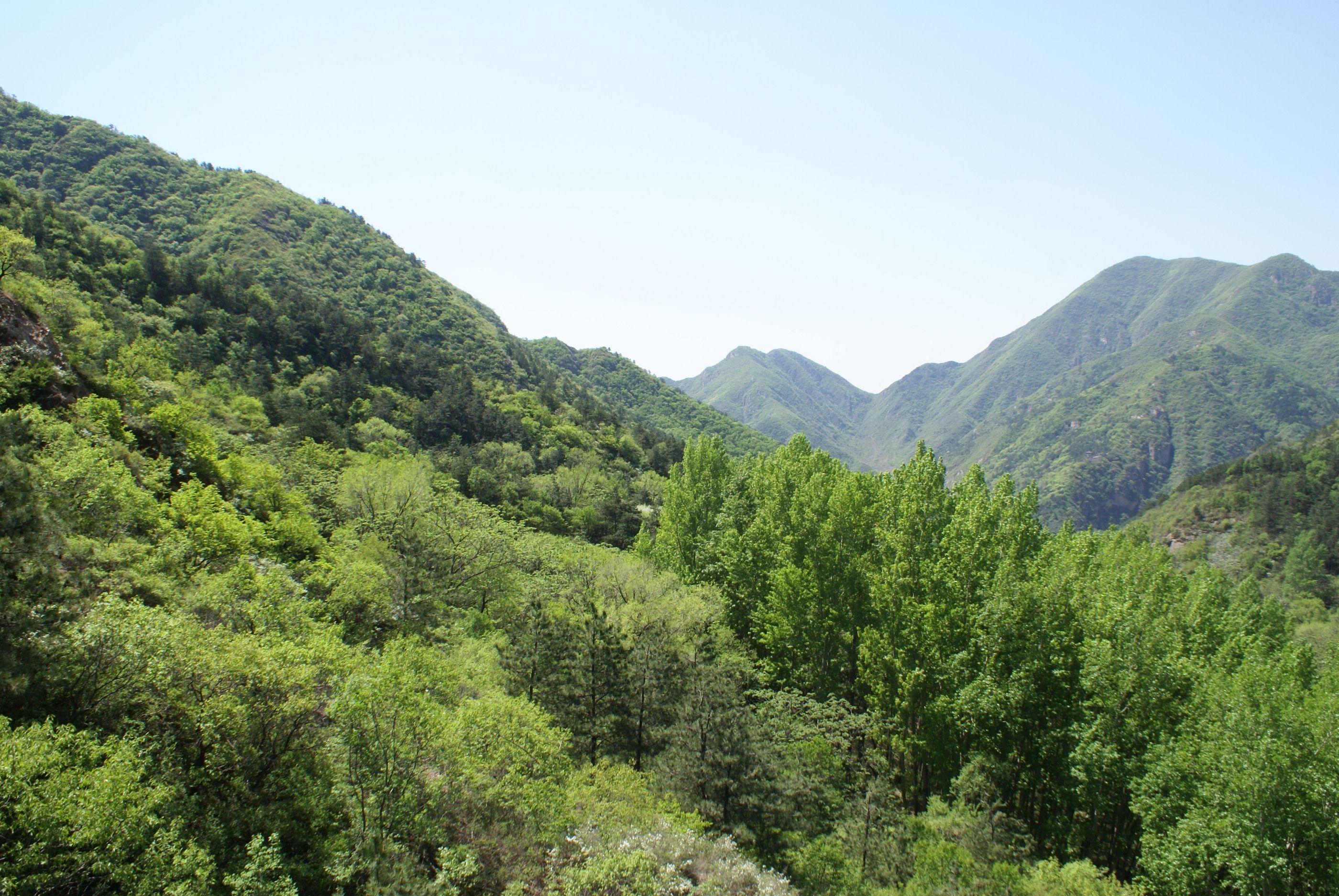 北京松山森林公园的景色照片!