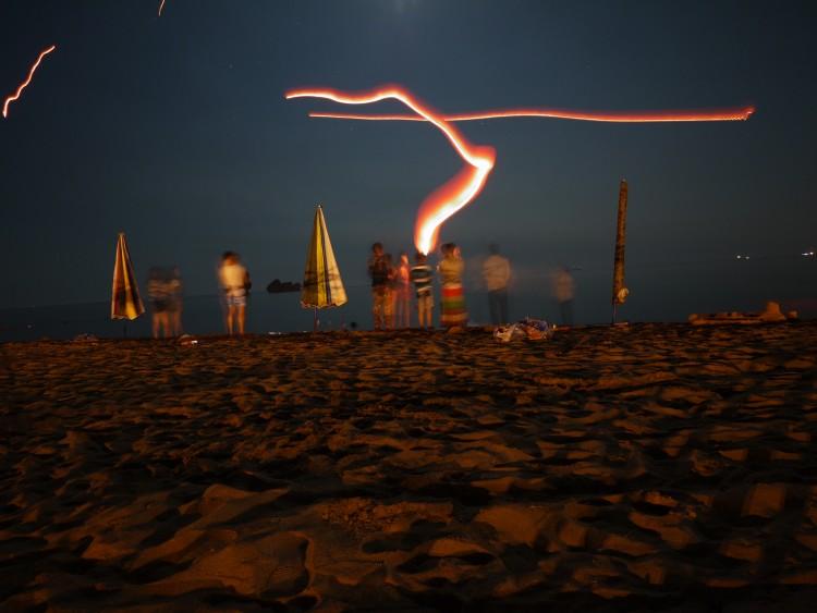 出海看日出捡螃蟹 七彩烟花照海滩 两日休闲之旅!