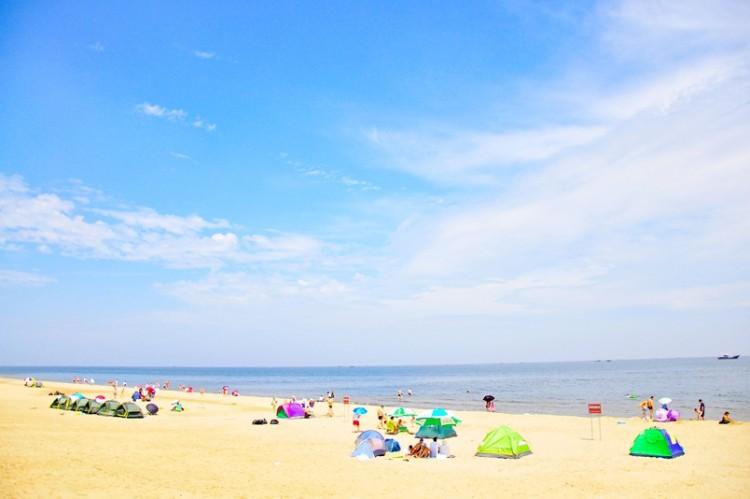 【一心户外】8月3日—4日翡翠岛露营烧烤滑沙看星星,集体把电话关掉