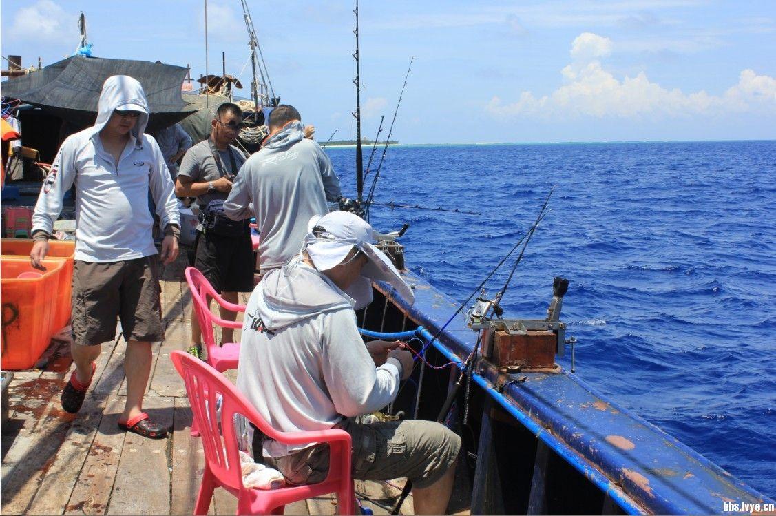 7月三沙市西沙群岛海钓收获秀图