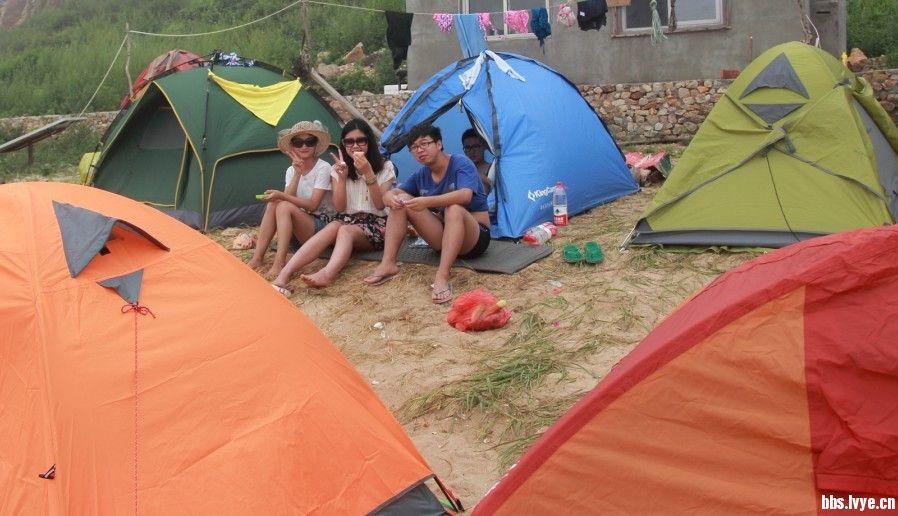 我有一顶帐篷 面朝大海 无人海岛
