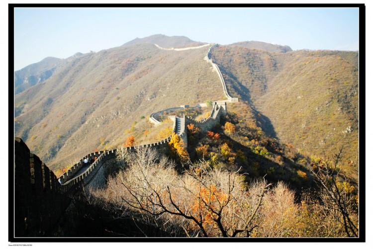 """【游山玩水】""""北京旅游世界之最""""慕田峪长城踏秋欣赏美丽风景"""