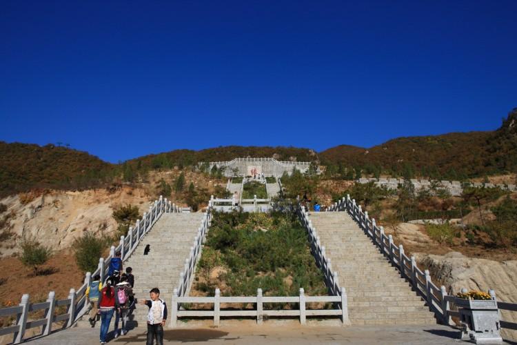 天津盘山风景名胜区(8张)盘山分为上,中,下