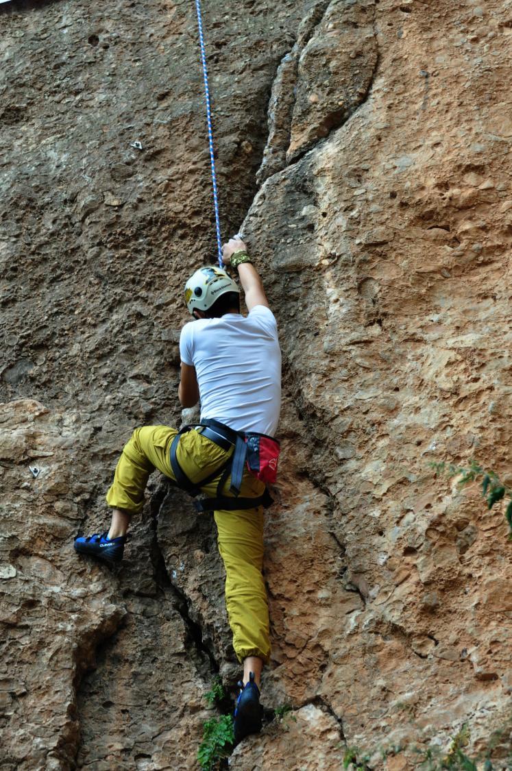 乐行成都鹤鸣山 救援攀岩新体验