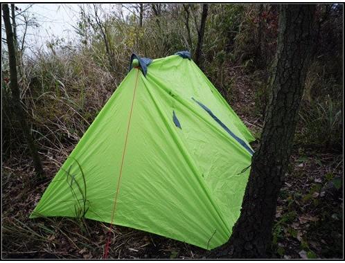 帐篷内部搭建结构图