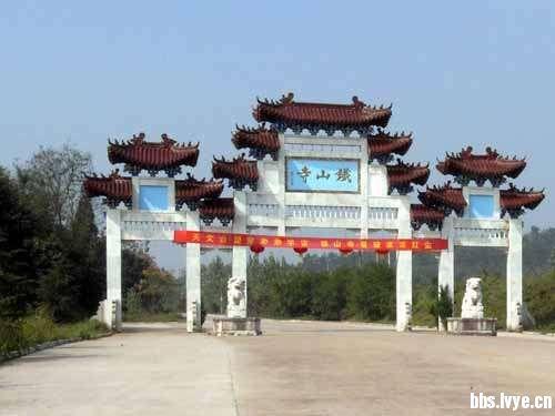 江苏淮安:铁山寺国家森林公园图片