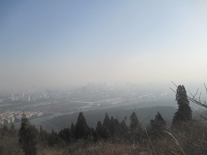 31日爬新区凤凰山.银山看裂谷-徐州-江苏-绿野户外