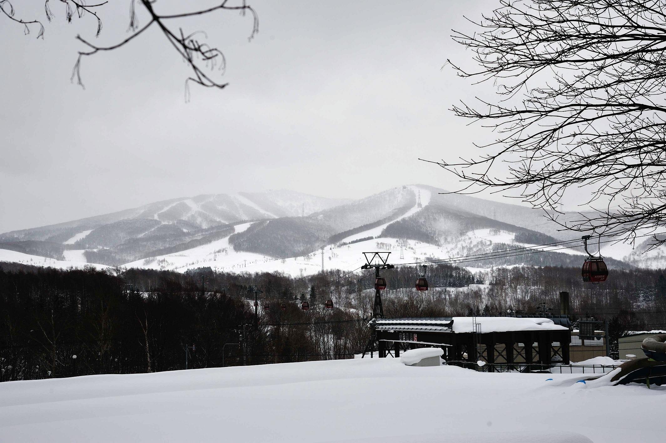 亚布力滑雪场-北海道雪场实况