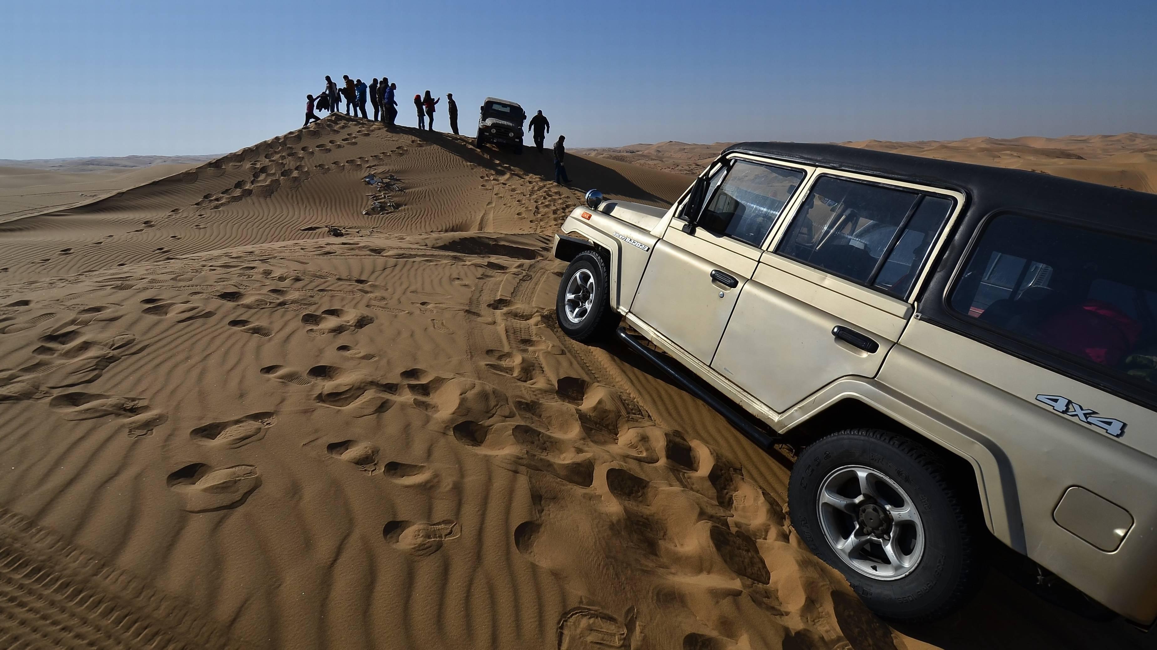 3月8日懒人队库不齐沙漠越驾越野照片-北京