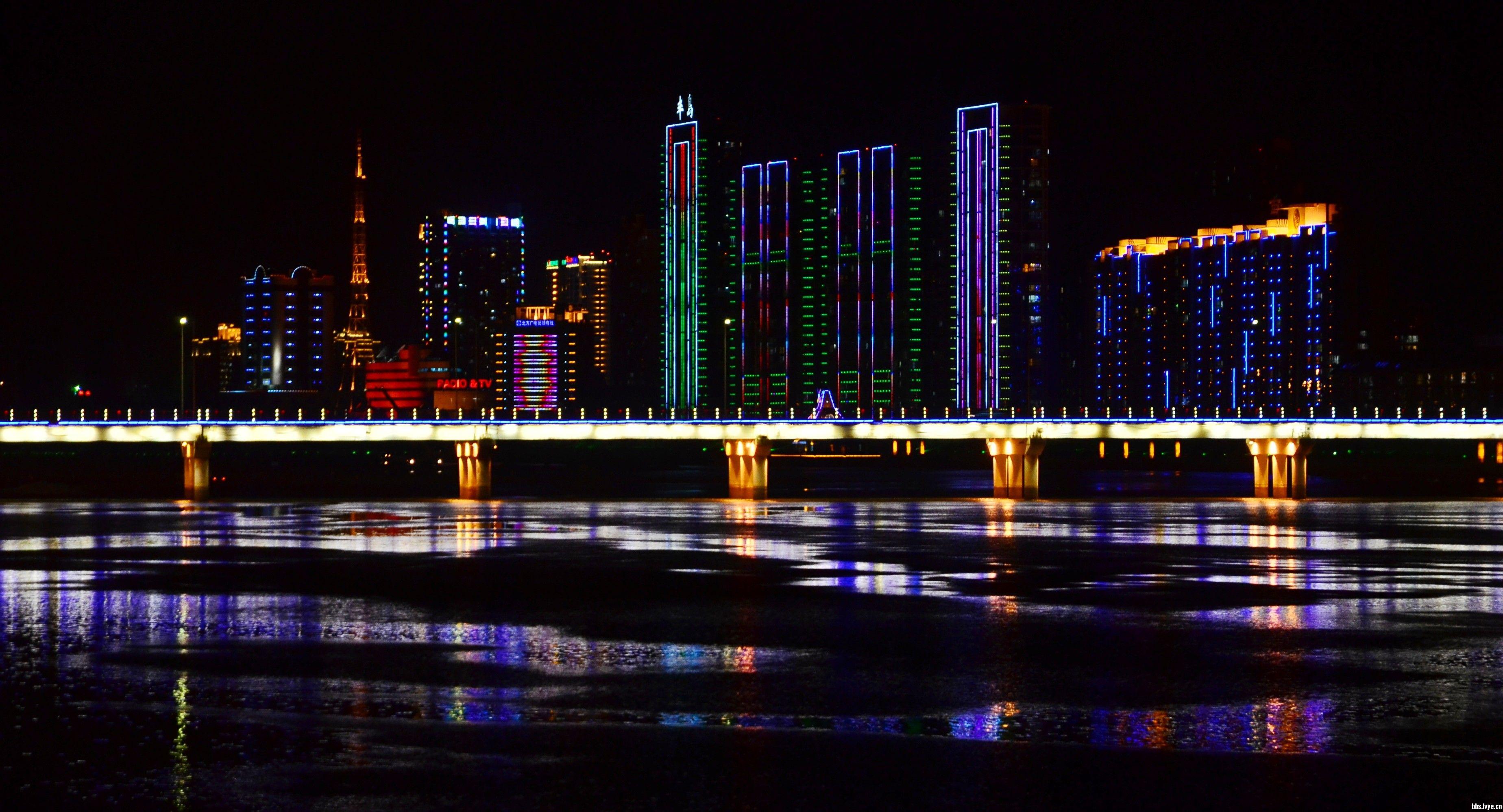 抚顺_抚顺的夜晚-11游记摄影-辽宁-绿野户外网