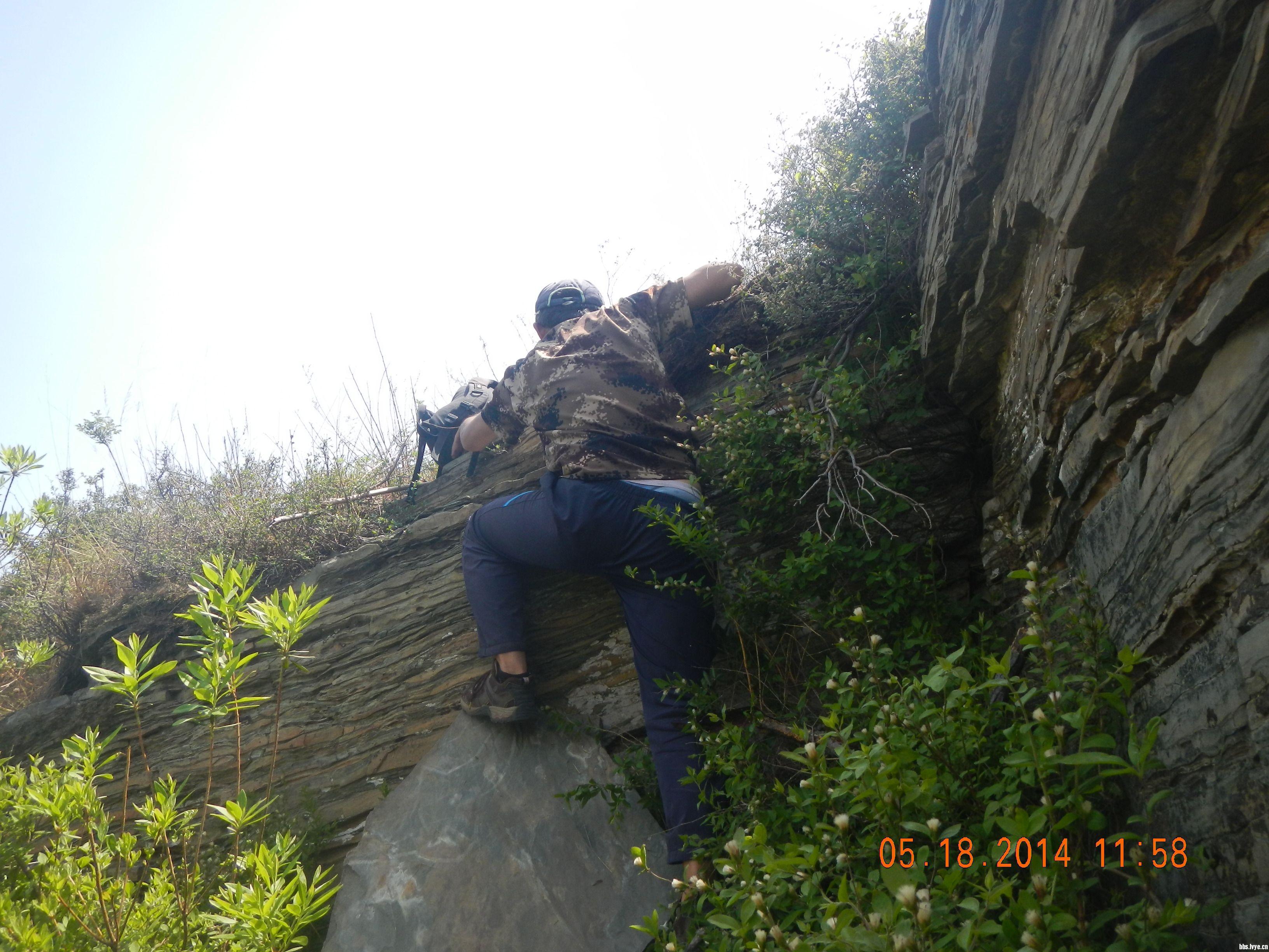 山林猫 发表于 2014-5-19 16:33  山里两人上山的沟就是我们下山的那条沟。下撤时,奉铁山嘱,我带黑妹、海甸、拉雅在前找路,他则仍留山头 ...