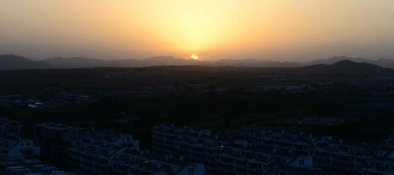 城市夕阳-葫芦岛-辽宁-绿野户外网