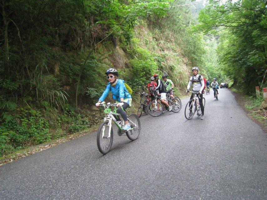 千岛湖的骑行图片哟
