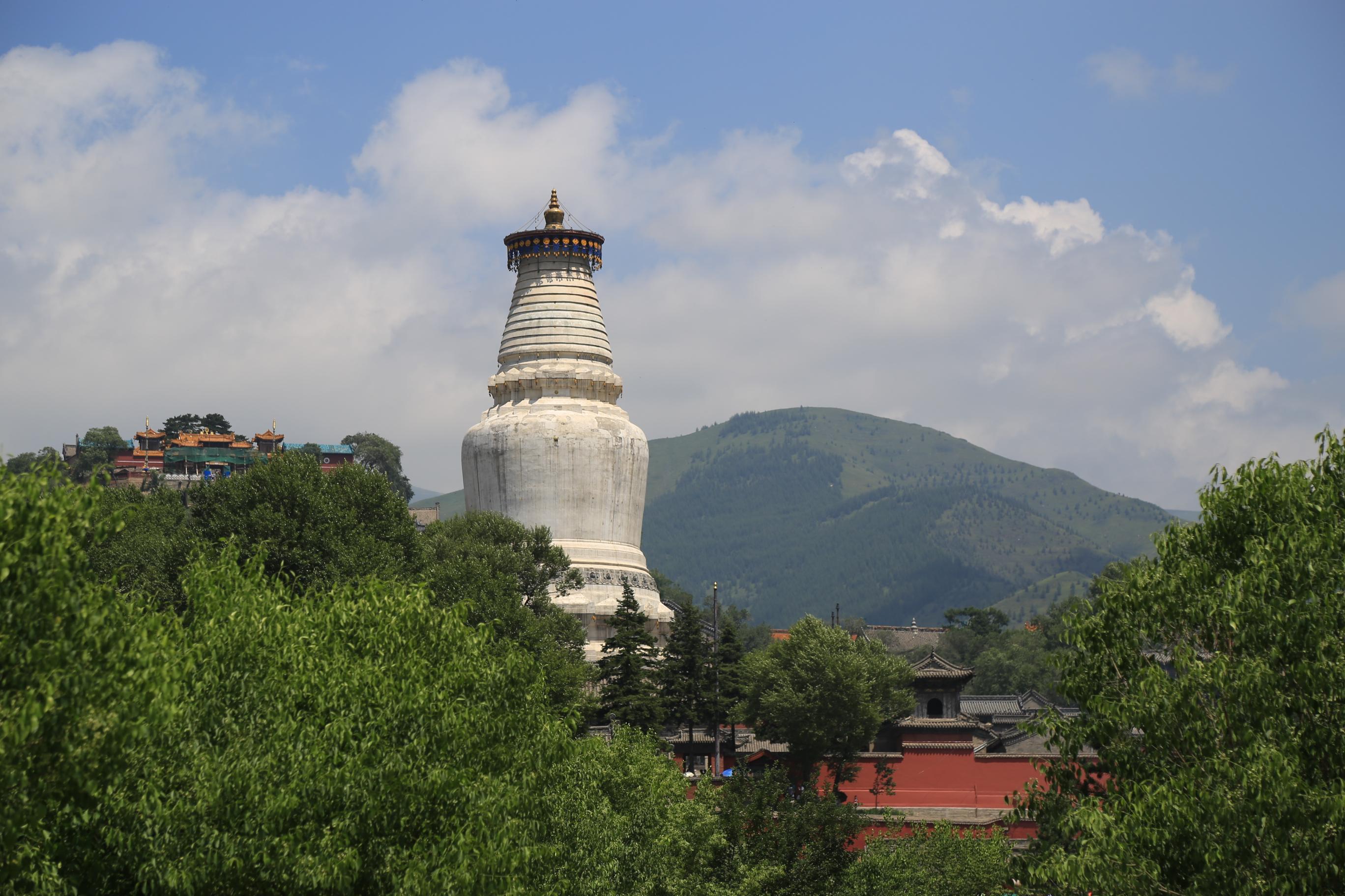 中江县白塔寺庙图像