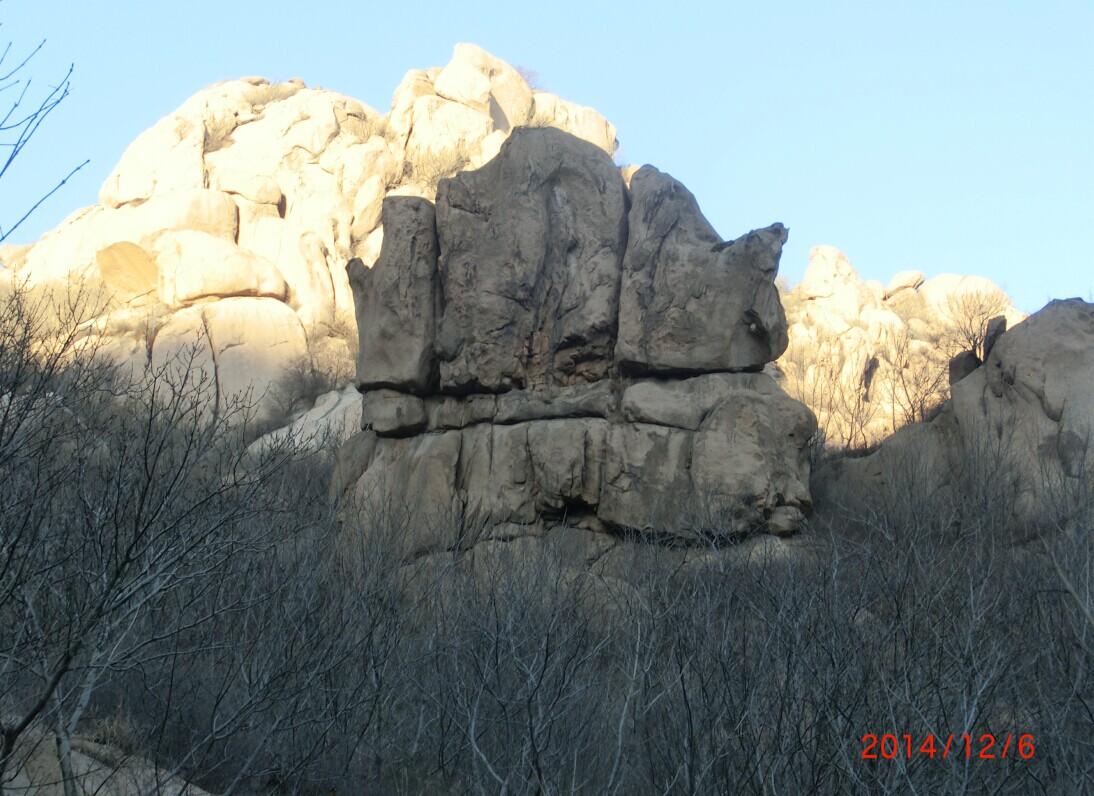 12月6日葫芦岛大红螺登山照片