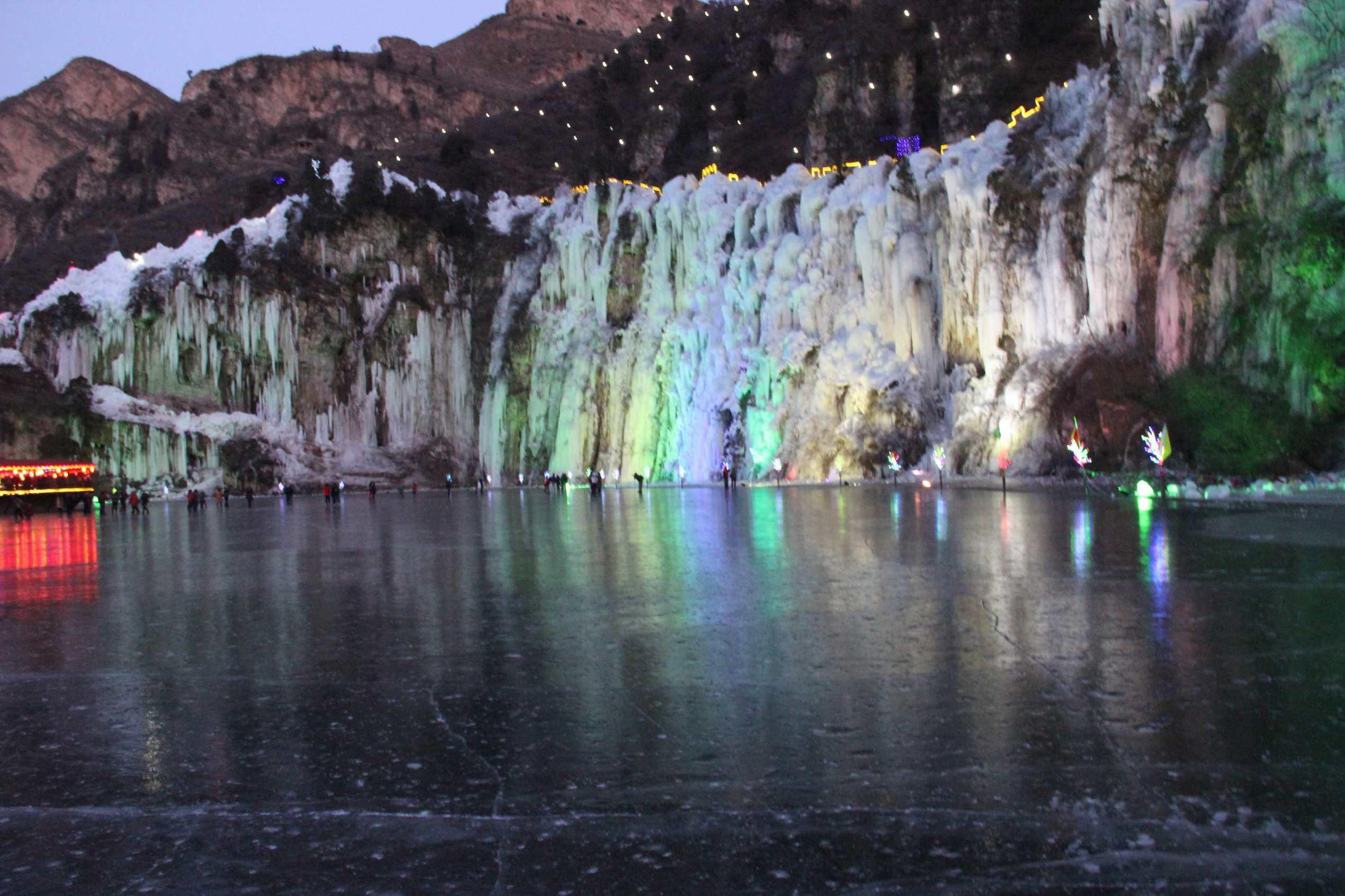 天桥峪冰瀑