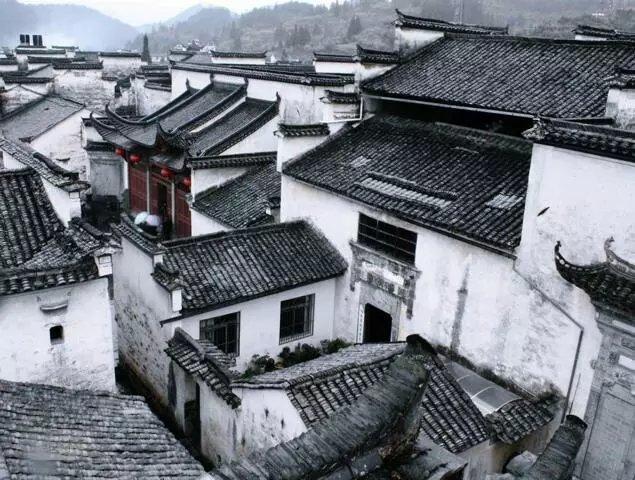 粉墙黛瓦中国风