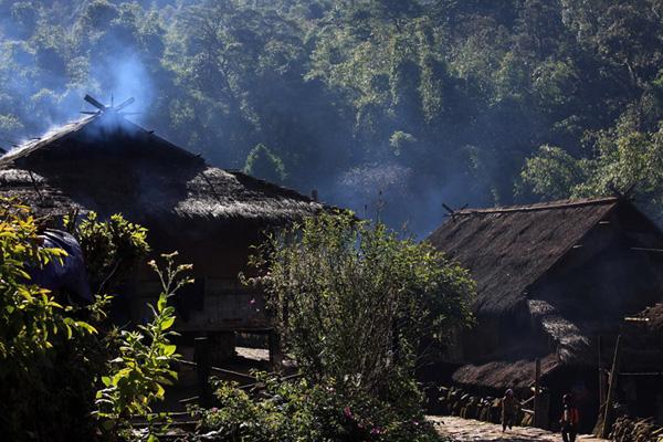 5月23日—5月30日中国保存最完整的佤族村—翁丁,最神秘宗教祭祀圣地