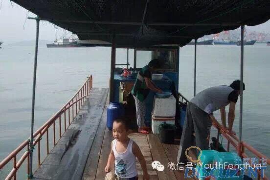 微信海景渔船头像