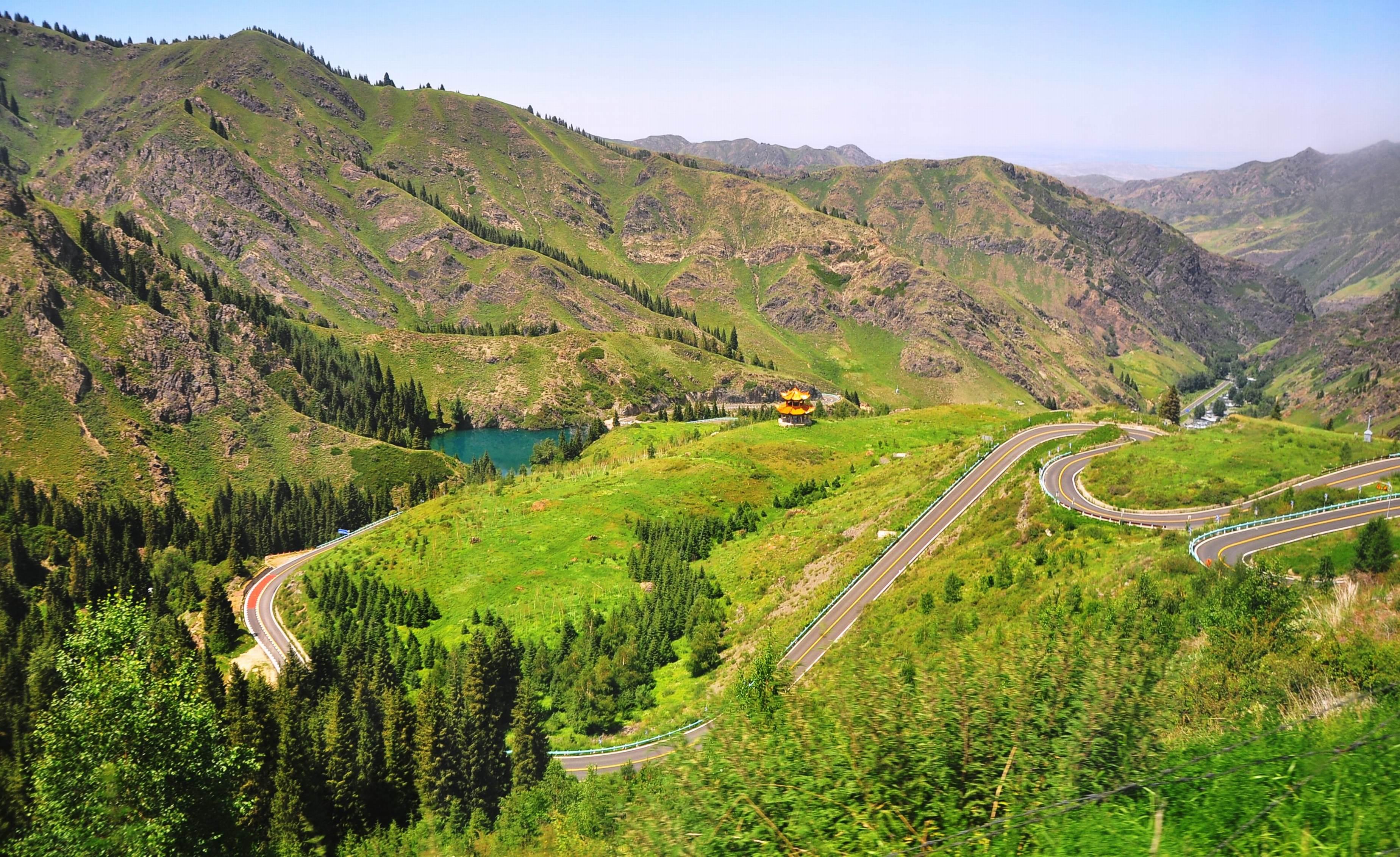 我们新疆好地方之天山天池马牙山