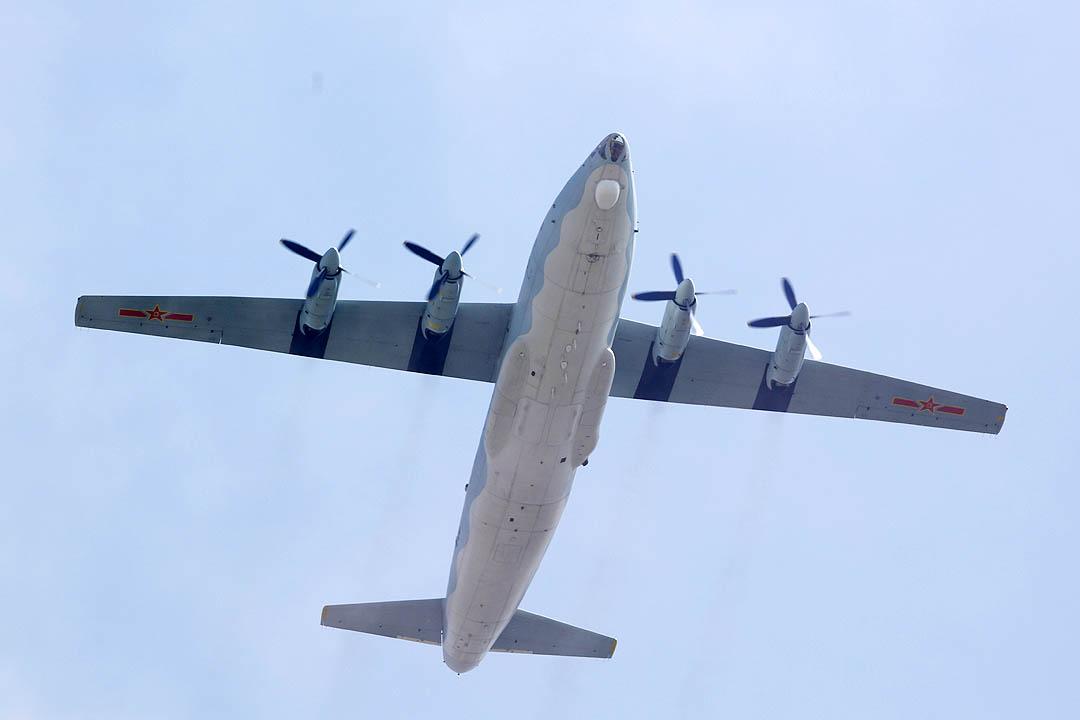 1999年大阅兵的飞机