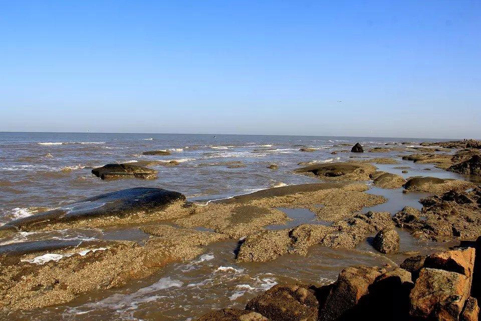 盖州北海,不一样的风景--红海滩