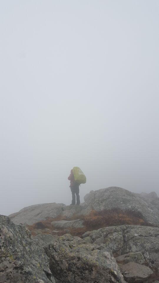 继续上路后雾气中的二哥.jpg
