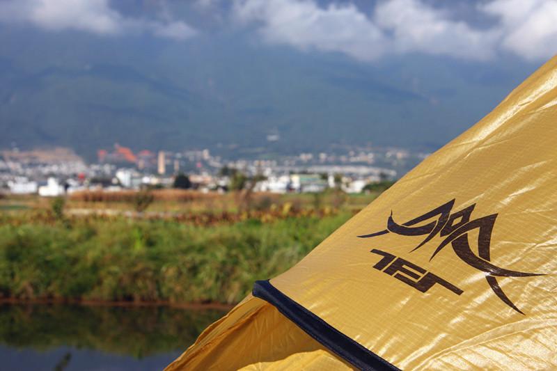 自由之魂精灵金字塔帐篷的测试机会, 正好和我大理洱海徒步计划相吻合