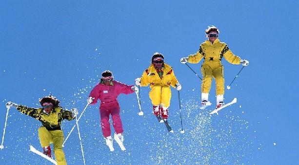 周末去滑雪吗?约哪 ?