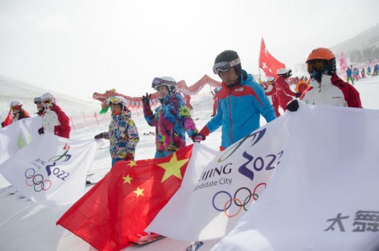 飞翔吧 太舞:助力冬奥 太舞滑雪小镇 盛大开业