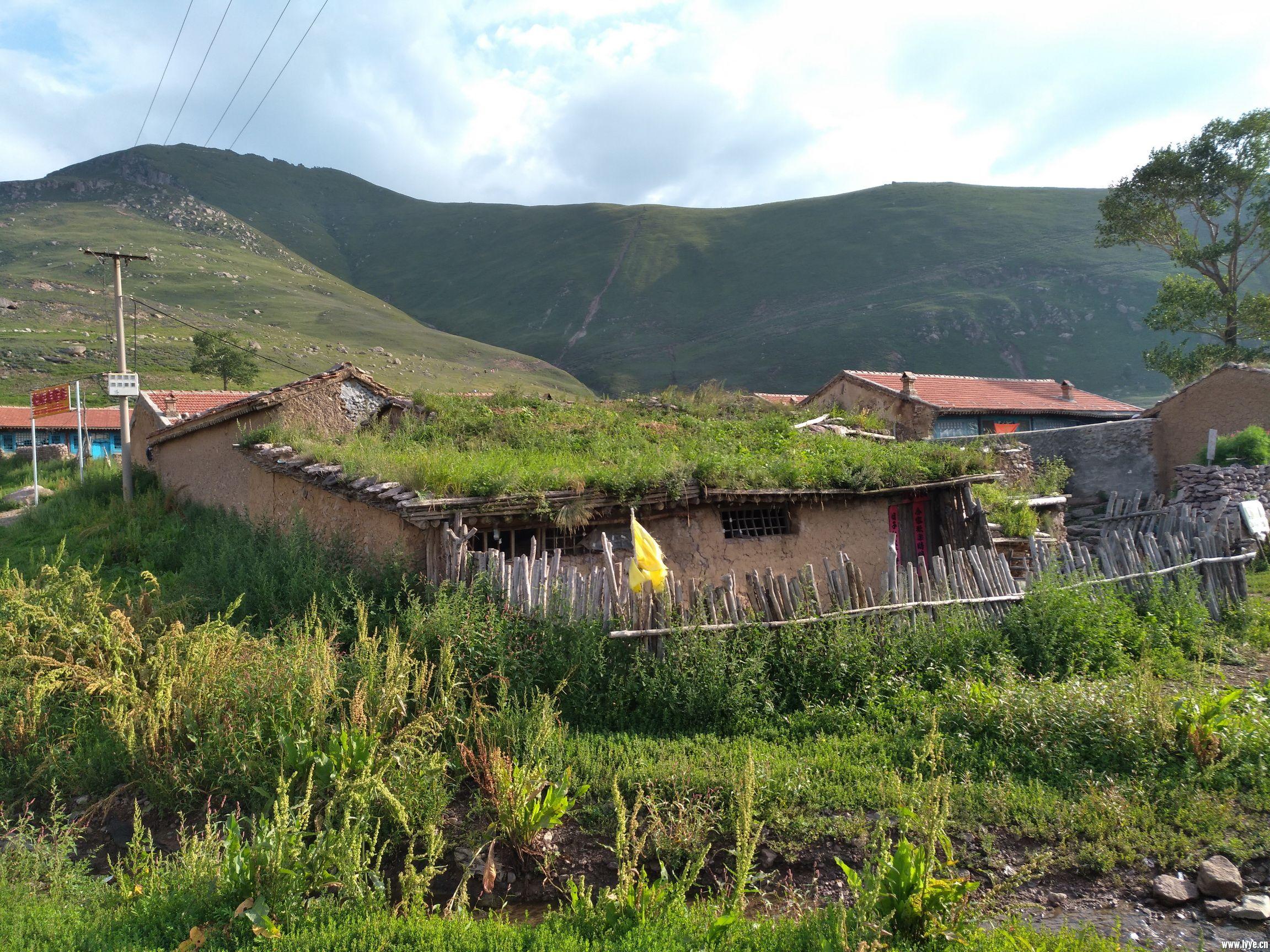 山村的土房