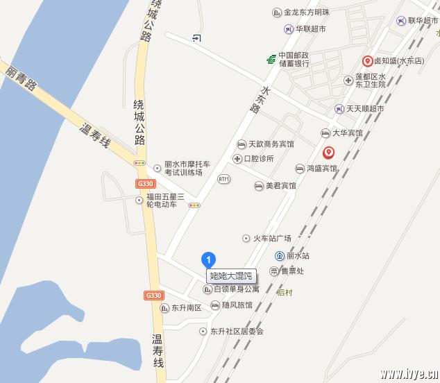 丽水火车站广场姥姥大馄饨餐厅集合点.png