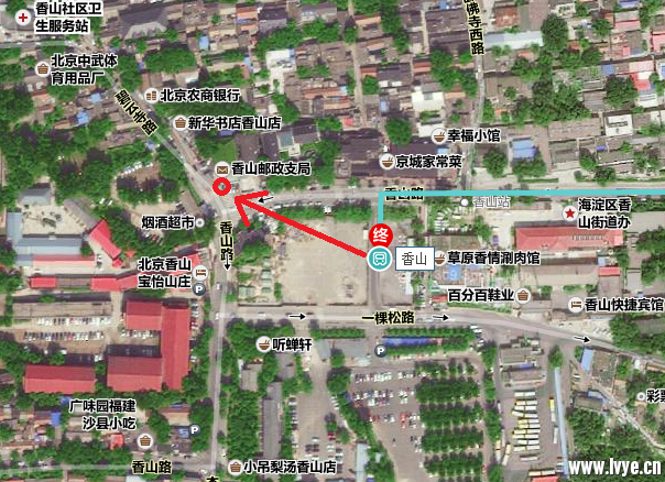 香山邮局集合点.png